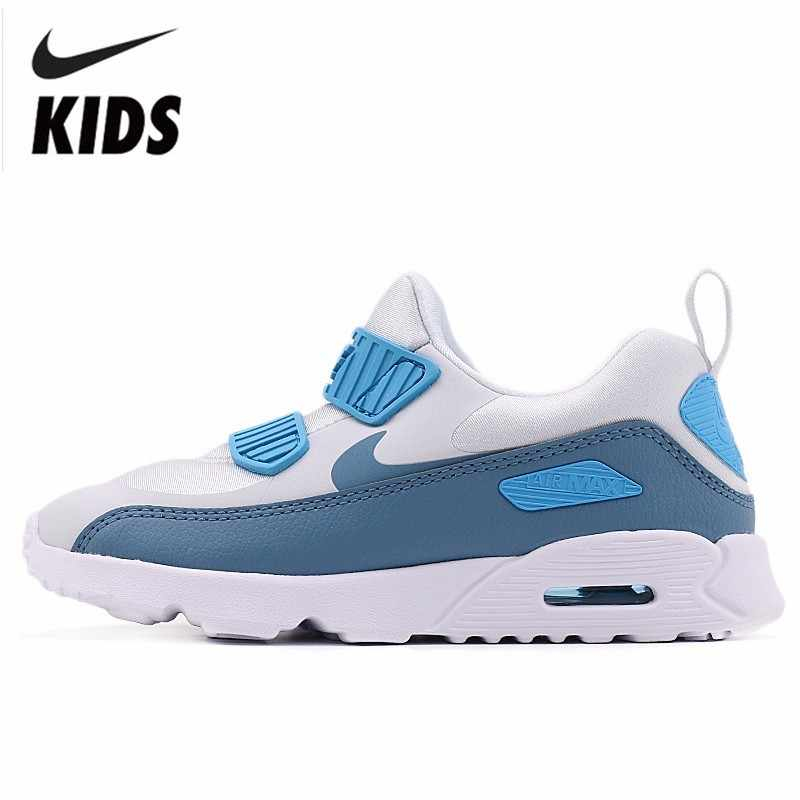 e0701ca2fffa4 Nike Air Max Child Shoes Autumn New Pattern Sneakers Boy And Girl Shoes  Cushion Leisure Running