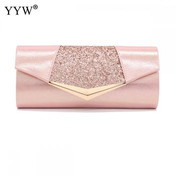 Fashion Crystal Sequin Evening Clutch Bags For Women 2018 Party Wedding Clutches Purse Female Pink Silver Wallets Bag Women bags цена 2017