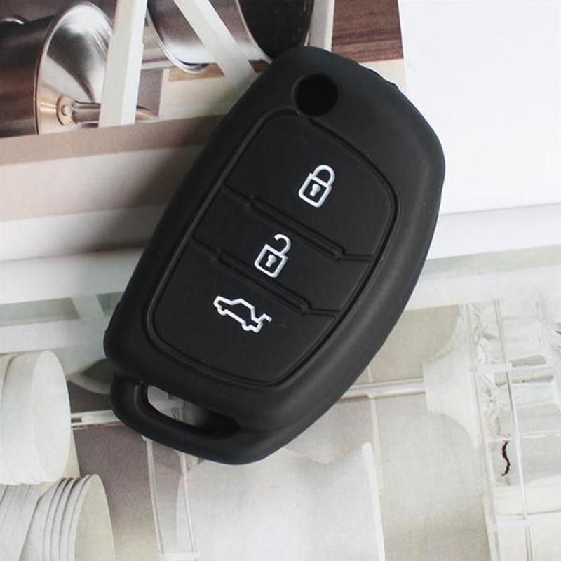 WOQUi Cuero Auto de Llave Key Cover Case