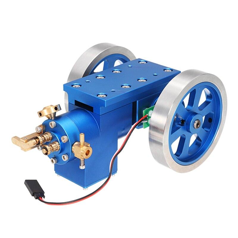 Potence Stirling moteur à Combustion entièrement en métal Hit & Miss modèle de moteur à gaz cadeau Collection jouet