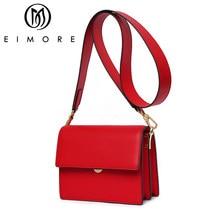 060c25fcea26 EIMORE женская сумка 2019 кожаная роскошная сумка через плечо для женщин  дизайнерская женская сумка через плечо