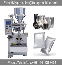 Dry fruits 50g 100g plastic bag packaging machine