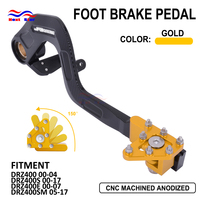 Motorcyle Rear Foot Brake Pedal Lever CNC Aluminum For Suzuki DRZ400 400S DRZ400E 400SM DRZ 400 400 S 400E 400SM 00 05 06 17