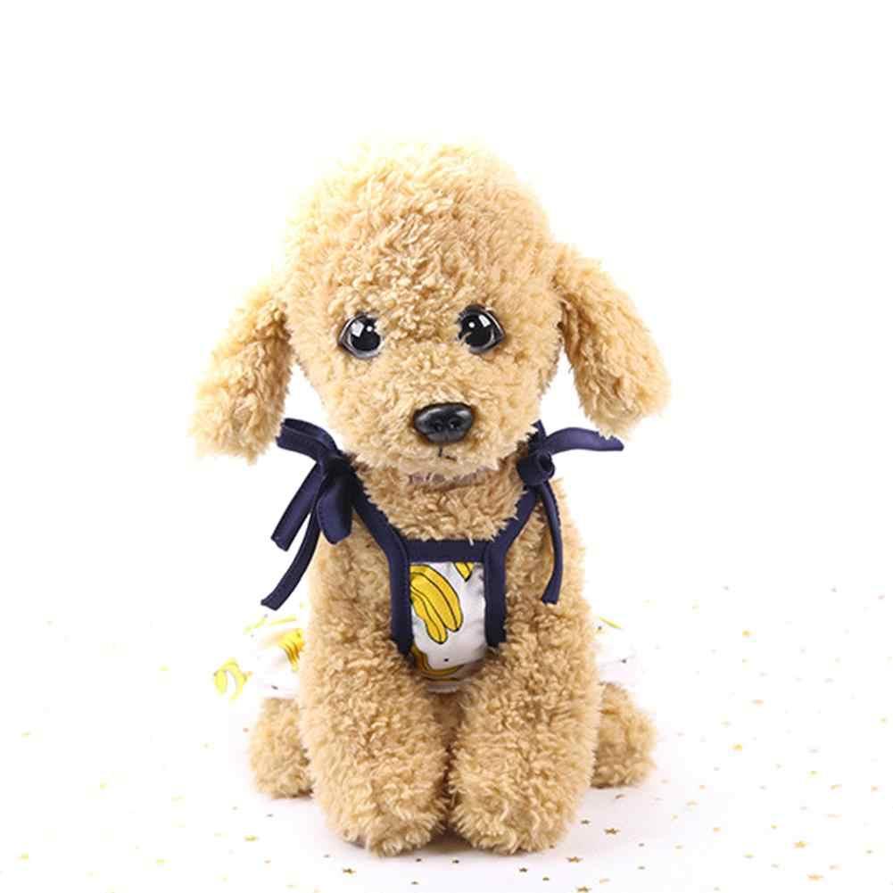 Pet банан узор юбка платье милые фрукты дизайн жилет летние для домашних животных собак Одежда для маленьких товары собак Щенок Прекрасный Лето фрукты