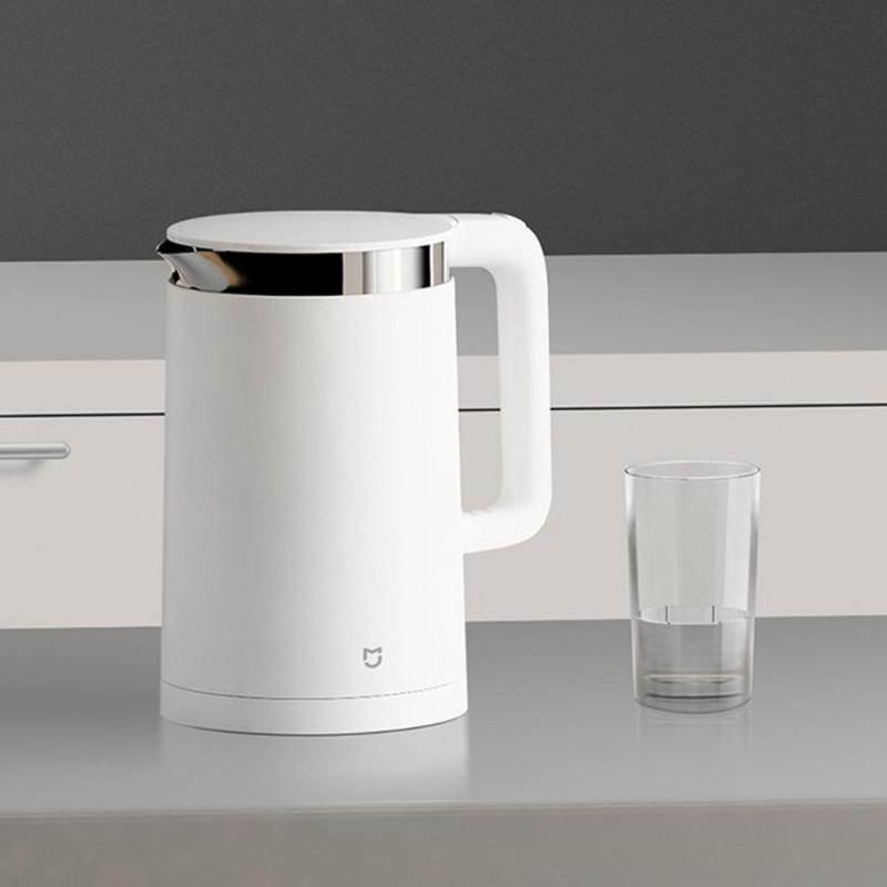 Xiaomi 1.5L Water Kettle Mijia Constant Temperature Control Electric Kettle 12 Hours Thermal Insulation Mi Home APP ControlXiaomi 1.5L Water Kettle Mijia Constant Temperature Control Electric Kettle 12 Hours Thermal Insulation Mi Home APP Control