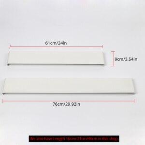 Image 3 - 61 cm/76 cm led 벽 램프 현대 침실 벽 빛 거실 계단 조명 장식 알루미늄 디 밍이 가능한 원격 제어