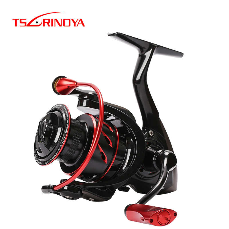 TSURINOYA Vissen Reel WHIRLWING 800 1000 2000 3000 4000 5000 8 + 1 Bearing 5.2: 1 Max Drag 4-11KG Saltwater Spinning Reel Fishing