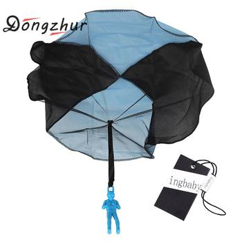 1 Pc Red Blue Yellow Kite Surf Kitesurf New Baby Children Parachute Throw And Drop Toys Outdoor Fun & Sports