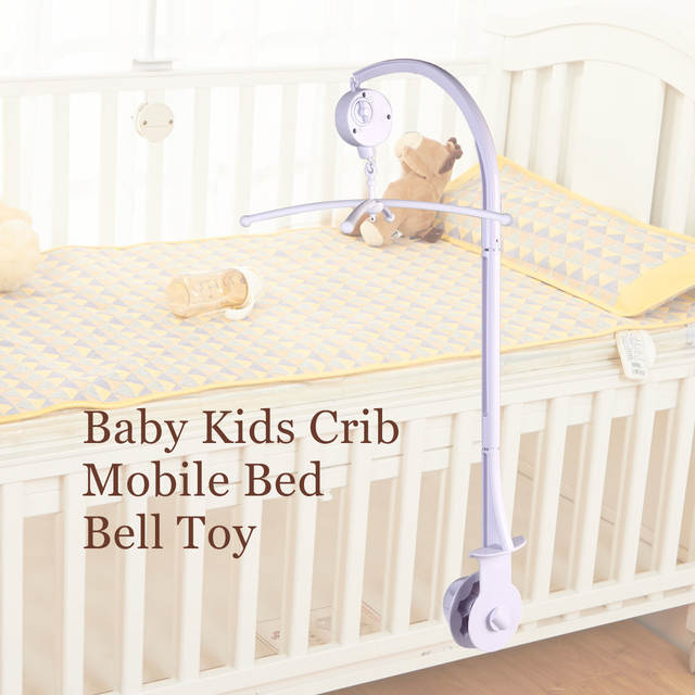 88cm Baby Crib Mobile Bed Bell Music