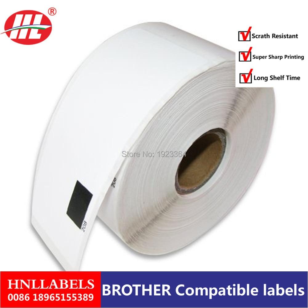 10X Rolls  Brother Compatible Labels DK-11208, DK 11208, DK 1208