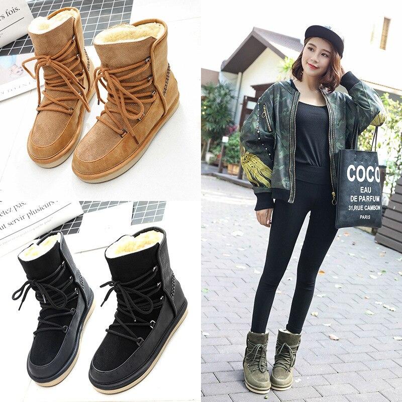 D'hiver Lacent Cheville Green Chaussures Rond De Bout Femmes Bottes qz64vf4