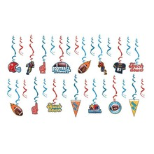 30pcs/set Football Theme Party Decorations Hanging Swirls For Birthday  Supplies