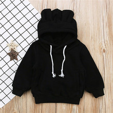 Kids Baby Hoodie Cartoon Animal Ears Clothing 1-5T