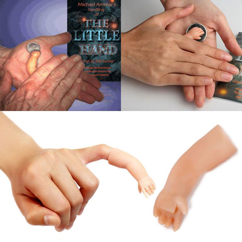 Комедия маленькая рука Волшебная магия игрушка с сюрпризом реквизит крупным планом шутка