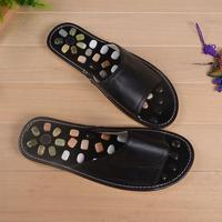 Cobblestone Foot Massage Shoes Home Sandals Slippers Cobblestone Acupoints Health Care Physical Therapy Comfortable Footwear