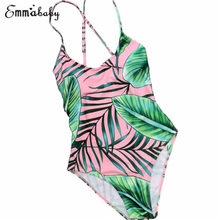 Whole Family Matching Tropical Leaf Beach Swimwear