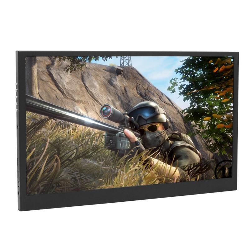 11.6 pouces LCD Dislpay multi-écran 1920x1080 1080 P Portable moniteur HDMI pour PS3 PS4 PC ordinateur Portable US Plug adaptateur d'alimentation affichage