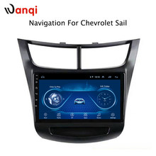 Factory direct sales 9 inch Android 8.1 car multimedia for Chevrolet Sail 2015-2018 car gps radio navigation free shipping(China)