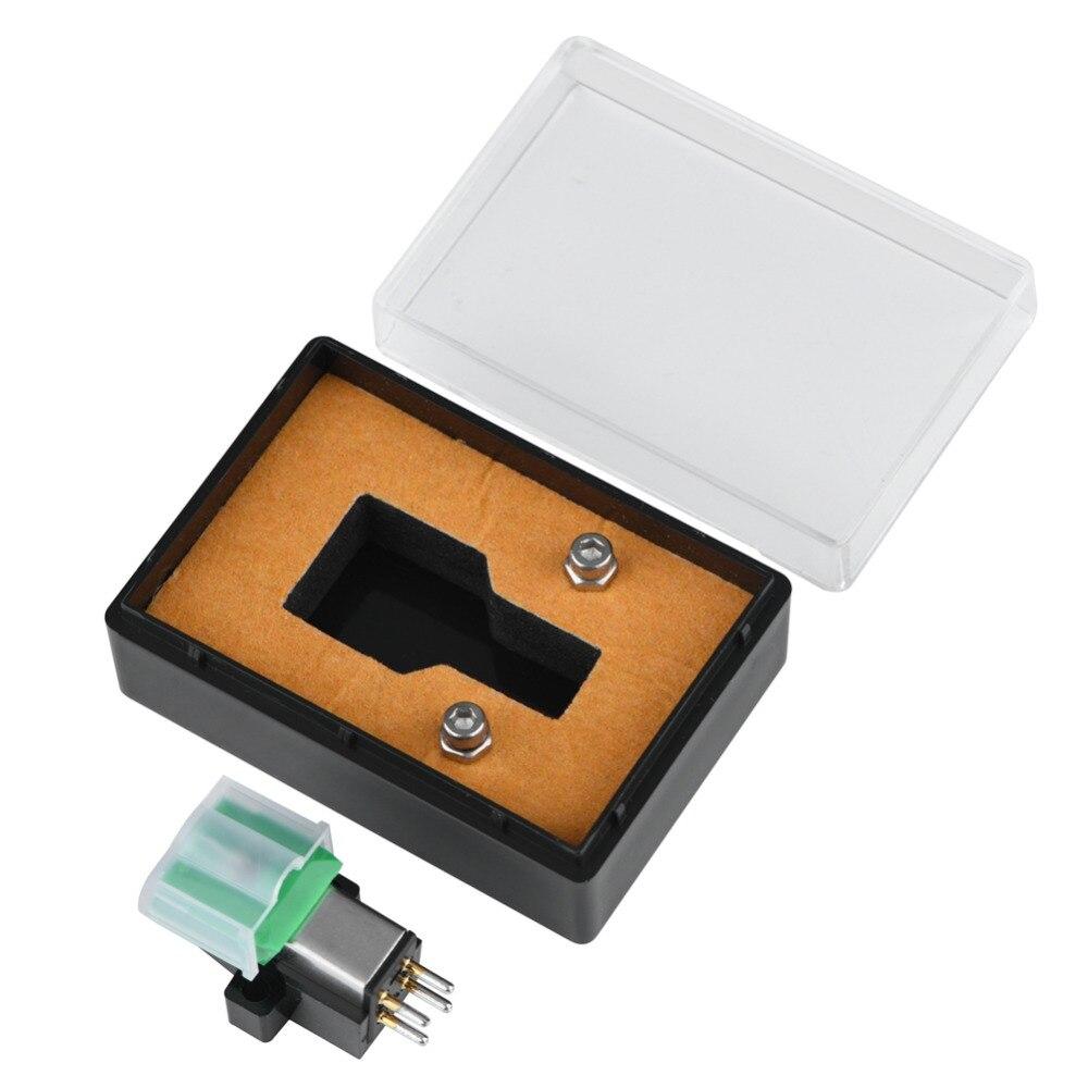 AT95E lecteur de disques stylet aiguille de stylet en vinyle pour platine vinyle 3 vitesses son Super clair brillant Audio fréquence paquet de détail