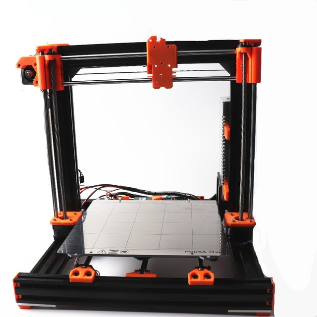 DIY Prusa i3 MK3 Bear Upgrade 2040 V-SLOT aluminum profiles rods Power panic PSU Motors kit heatedbed Y carriage belt pulleys