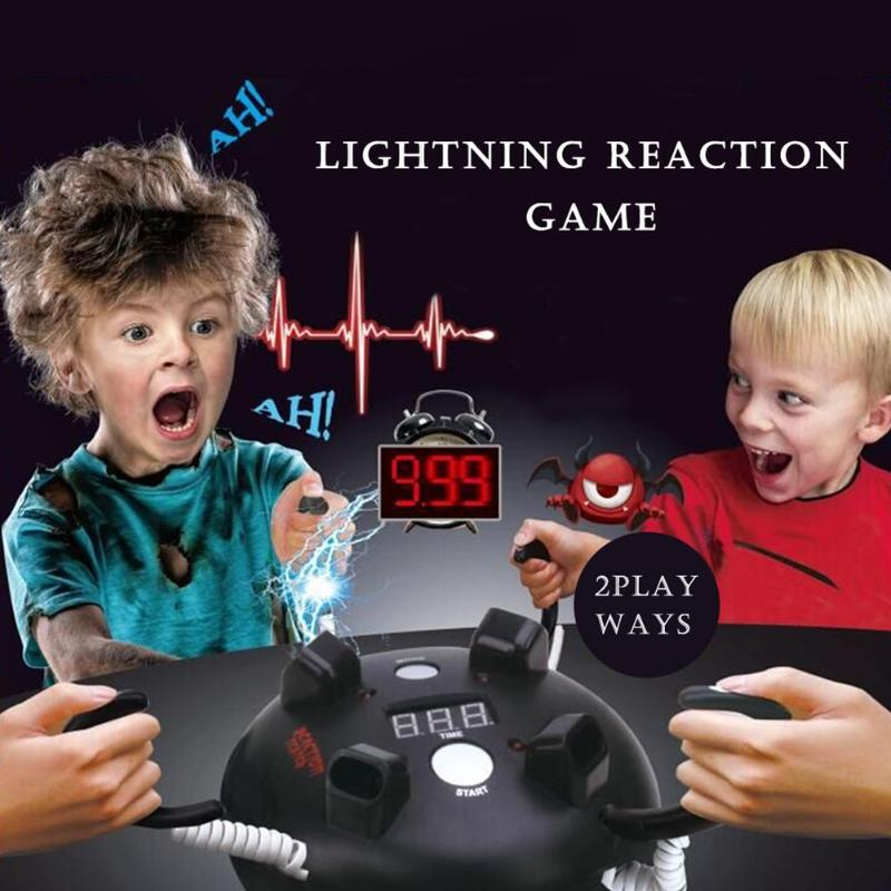 Novelty Adult Electric Shocking Reaction Toy Creative Bar Party Entertainment Desktop Game Console Prank Joking April Fool's Day