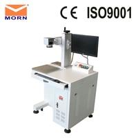 MORN Laser Marking Desktop Engraver Machine For PVC Nylon Factory Price