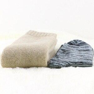 Image 3 - Męskie wełniane skarpety zimowe grube ciepłe skarpety wysokiej jakości ciepłe wełniane skarpety męskie modne prezenty dla mężczyzn wełniane skarpety merino 1 para
