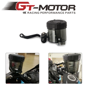 Universal Motorcycle Front Brake Clutch Fluid Bottle Master Cylinder Oil Reservoir Tank Cup For Honda Suzuki Kawasaki YAMAHA