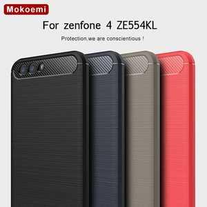 """Image 1 - Mokoemi mode résistant aux chocs Silicone souple 5.5 """"pour Asus Zenfone 4 ZE554KL étui pour Asus Zenfone 4 ZE554KL housse de téléphone portable"""