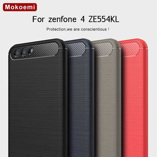 """Mokoemi mode résistant aux chocs Silicone souple 5.5 """"pour Asus Zenfone 4 ZE554KL étui pour Asus Zenfone 4 ZE554KL housse de téléphone portable"""