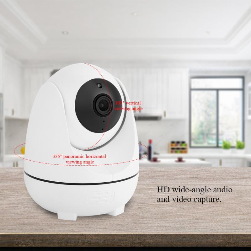360 Degrés 1080 P FHD caméra de surveillance domestique 200 W Wifi vision nocturne caméra de sécurité Système IR appareil photo intelligent Pour La Maison caméra de sécurité