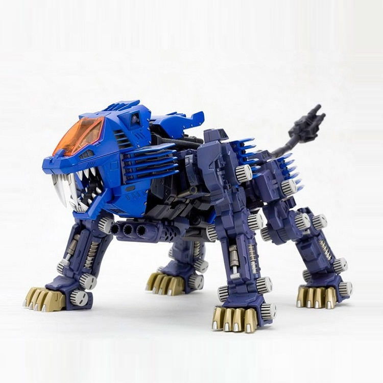 BT Model Building Kits: ZOIDS RPZ-03 Shield Liger 1:72 Scale Full Action Plastic Kit Assemble Model Birthday Christmas Gifts