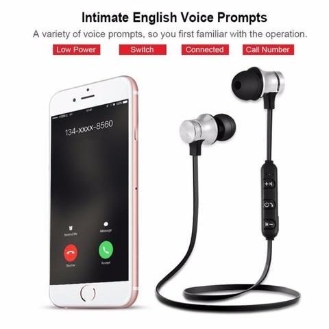 brand new SOONHUA Wireless Magnetic Headphone V4.2 Bluetooth Headset Neckband Handsfree Sport Stereo Earphones For iPhone Xiaomi Karachi