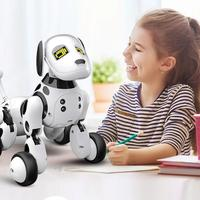 New Birthday Gift RC Zoomer Dog 2.4G Wireless Remote Control Smart Dog Electronic Pet Educational Children's Toy Robot Toys