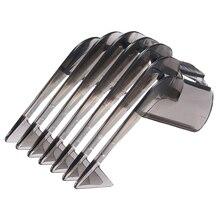 Cortador de cabelo guia pente aparador de barba pente 3 21mm ferramentas de fixação de lâmina para philips qc5130/05/15/20/25/35 ajustável