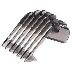 Cortapelos guía peine recortador de barba peine 3-21mm maquinilla de afeitar herramientas de acoplamiento para Philips QC5130/05/15/20/25/35 ajustable