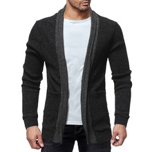 Mens Sweaters 2019 New Cardigan Men Fashion Solid Color Homme Man Autu