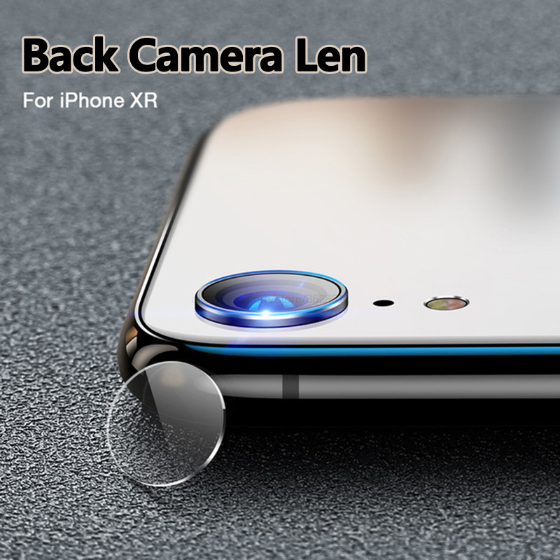 2 Pcs Back Camera Lens Tempered Glass For Iphone Xr Screen Protector HD Camera Protective Glass On The For Iphone Xr X R Rx Film