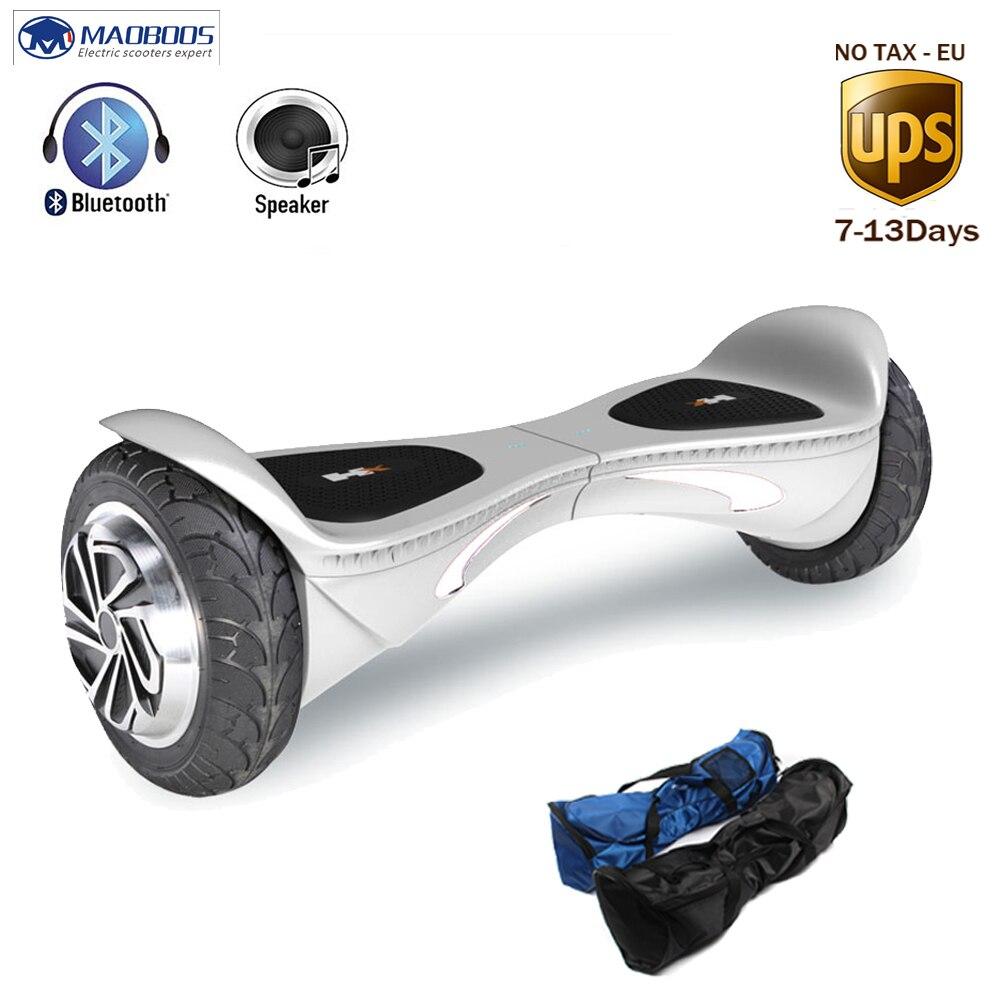 Hx Scooter Auto Équilibre Hoverboard électrique Gyroscooter Planche À Roulettes Gyroscope Bluetooth Enfant Hoverboard Par-Dessus Bord 8 Pouces Oxboard