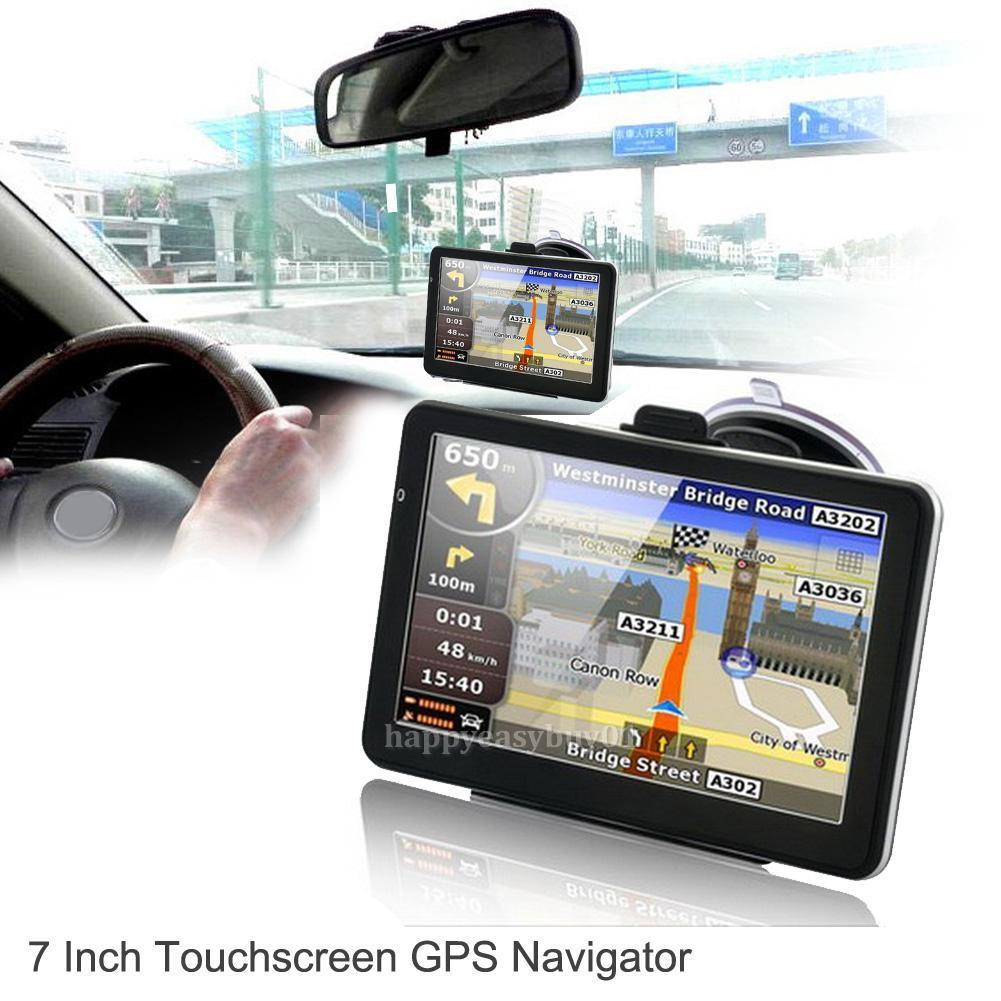 7 HD Touch Portable Truck Car GPS Navigator Navigation with Free Lifetime Maps7 HD Touch Portable Truck Car GPS Navigator Navigation with Free Lifetime Maps
