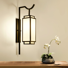 Vintage Wall Mount Chinese Lamps Chinese Lights Iron Sconce Black Bedside Wall Lamp E27 Socket Living Room Bedroom Luminaire wall lamps vintage led creative cage e27 sconce wall lights for living room bedroom bar 2 pcs vintage black loft iron wall lamp