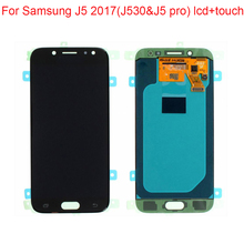 JPFIX Super AMOLED для samsung Galaxy J530 J5 J5 pro ЖК-дисплей Замена сенсорного экрана