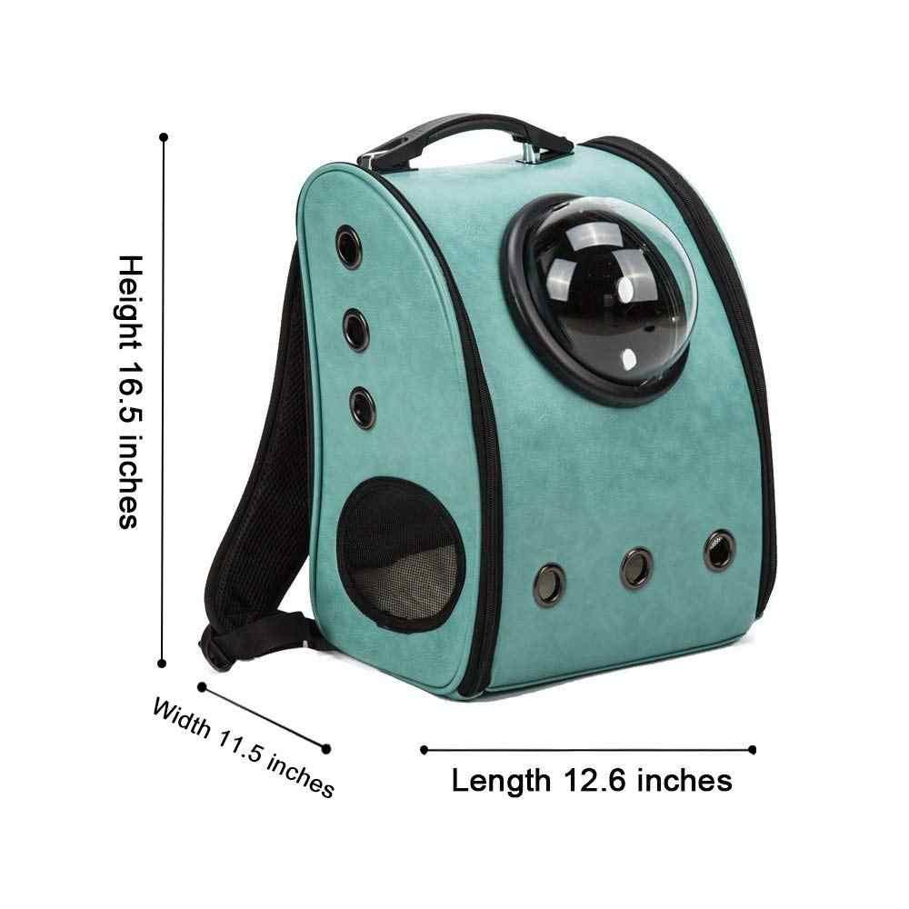 Smartlife с рюкзак для перевозки животных космическая капсула из искусственной кожи с рисунком собачки и котика небольшой Животные дорожная сумка кошка рюкзак-переноска капсула, сумка в виде кота