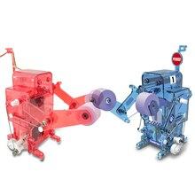 DIY бокс робот строительные блоки комплект питание робот собрать Развивающие игрушки для детей