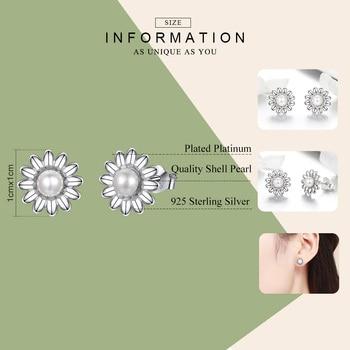 Pearl Flower Freshwater Earrings1