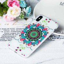 KISSCASE Cool Floral Pattern Phone Case For iPhone MXA XR XS X 6 6s 7 8 Plus Fashion Animal Fundas Coque Flower Covers