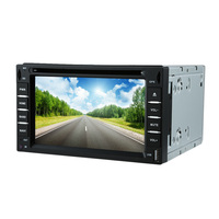 6 2 Din Car DVD USB SD Player GPS Navigation Bluetooth Radio Multimedia HD Entertainment System for Car