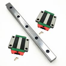 20 мм Тип 1 шт. HGR20 линейные направляющие L500mm рельсы+ 2 шт. каретки HGH20CA/HGW20CC блоки для ЧПУ