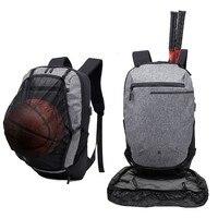 Outdoor Man Woman Sports Basketball Backpack Football Gym Fitness Teenager Bag Squash Tennis Badminton Backpack Soccer Ball Pack