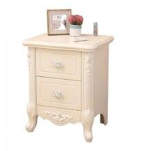 Nachtkastje Armoire Chambre Armarios European Wood Cabinet Bedroom Furniture Mueble De Dormitorio Quarto Bedside Table